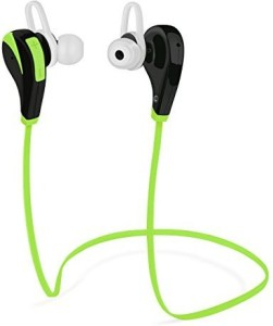 Best Elec Bluetooth Headset,BestElec Stereo Wireless Headphone, Sweat-proof Sports & Running Earphone rophone for IPhone 6 6plus,Samsung S6,S5,Note 4 and more-Green Wireless Bluetooth Headset With Mic