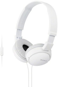 Sony MDR-ZX110APW Headset with Mic