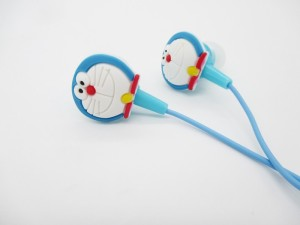 Pinglo 002 Doraemon 2 Stereo Wired Headphones (Multicolor, In the Ear) Wired Gaming Headset With Mic