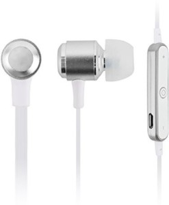 U-Bluetooth YCC TEAM ® G11 Sports Wireless Bluetooth V4.1 In-ear sweat proof Earphone Headphone Headset  Support Stream Music/Video/Audio for iPhone6 6 Plus 5 5S 5C, Samsung Galaxy S2, S3, S4, S5, Android Cell Phones and Other Bluetooth Devices (White) Wireless Bluetooth Headset With Mic