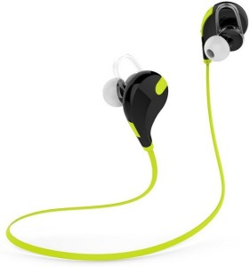 800b20cb516 Fitmate Qy-7 Sports Stereo Sound High Quality Wireless Bluetooth Headset  With Mic ( Green