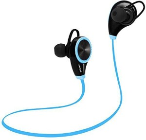 Ecandy Bluetooth Headset Headphones Earphone,Ecandy Wireless Hands-free Headset rophone for Apple iPhone iPad iPod Samsung Android Smart Phones And Other Bluetooth Device-Blue Wireless Bluetooth Gaming Headset With Mic