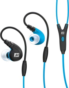 MEE Audio M7P-BL Wired Headset With Mic