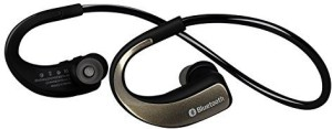 Sunorm Sunorm Bluetooth 4.0 Sport Headset Wireless Headphones rophone for Sport Running Noise Cancelling Earbud Earphone for Cell Phone (Gold) Wireless Bluetooth Gaming Headset With Mic