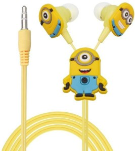 Chinmayi Minion Bob Wired Headphones