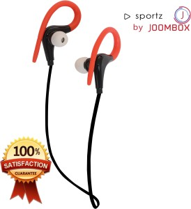 JOOMBOX SPORTZXRED Wireless Bluetooth Gaming Headset With Mic