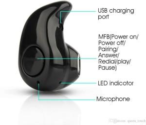 Gogle Sourcing 417 mini earphone Wireless Bluetooth Gaming Headset With Mic
