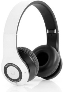 Bluedio Bluedio B2 Bluetooth Stereo Headset for Mobile Phones - Retail Packaging - White Headset with Mic