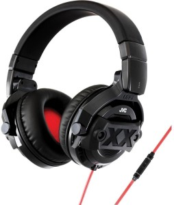 JVC HA MR77X Wired Headset With Mic Red Black Best Price in India ... 45f273922a