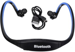 Quit-X ™ FM Radio Sport Music MP3 Player Memory Card Supported Wireless Bluetooth Headset With Mic