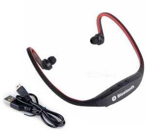 Quit-X ® Sport Micro SD/TF MP3 Music Player Wireless Bluetooth Headset With Mic