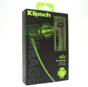 Klipsch Image S4a black Wired Headset With Mic