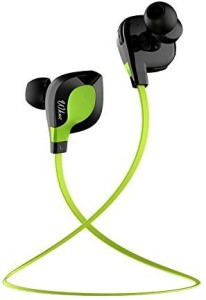 Wkae Wkae® Wkae 501 Bluetooth 4.1 Wireless Stereo Jogger, Running, Sport Headphones Earbuds  Hands-free Calling, AptX for iphone 6, 6 Plus, 5 5c 5s 4s ipad, LG G2, Samsung Galaxy S6 S5 S4 S3 Note 3 and Other Android Cell Phones(Green) Wireless Bluetooth Gaming Headset With Mic