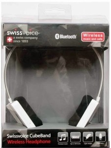 Swiss Voice Cube Band Headset with Mic