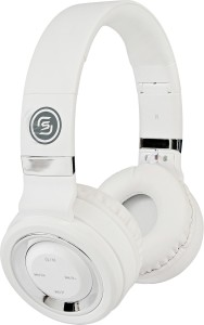 Sound One P-6 (White/Silver) Wireless Bluetooth Gaming Headset With Mic