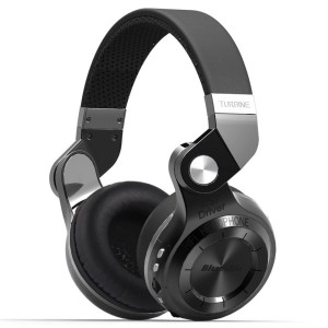 Bluedio T2 Plus Bluetooth Headphone - Black Wired & Wireless Bluetooth Gaming Headset With Mic
