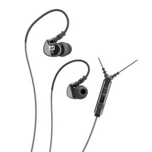 MEE Audio M6P2-BK Wired Headset With Mic
