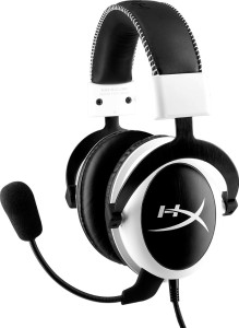 HyperX Cloud Gaming Headset for PC,PS4 - White