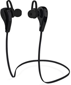 Best Elec Bluetooth Headphone, BestElec 4.0 Wireless Stereo Headset Sweat-proof Sports Running Gym Exercise Earphones rophone for iPhone 6s Plus, 6 Plus, Samsung Galaxy,Other Android & IOS Phones, Black Wireless Bluetooth Headset With Mic