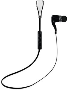 Reiko Reiko Bluetooth Headset for iPhone/iPad/iPod/Mp3 Player - Retail Packaging - Black Bluetooth Headset with Mic