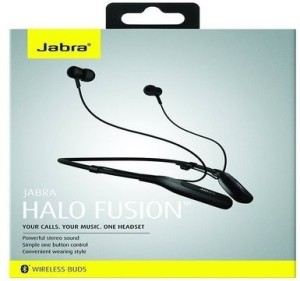 f785160c76a Jabra Halo Fusion Wireless Bluetooth Headset With Mic Black Best ...