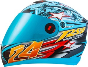2e5cd8e9 Steelbird Air Hovering Motorbike Helmet Sky Blue Yellow Best Price ...
