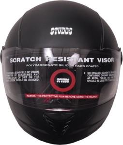 3feeb710c13 Studds Professional Motorbike Helmet ( Black With Black Strips )