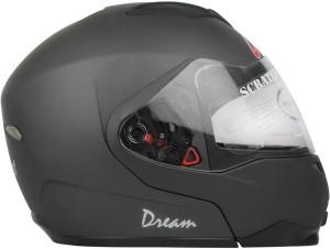 6e48c2a8 Replay Dream Plain Motorbike Helmet MATT Grey Best Price in India ...