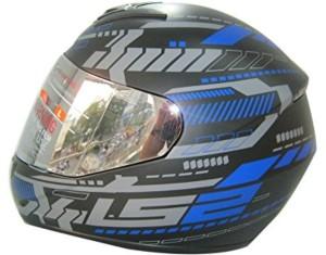 143f480538a LS2 Tron Motorbike Helmet tron black blue matt Best Price in India ...