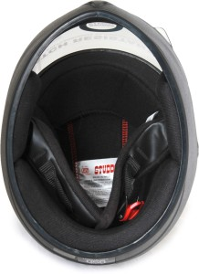 e7527bce Studds Chrome Elite 540MM Motorsports Helmet Black Best Price in ...
