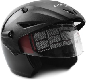 498d1282bb1 Vega Cruiser W P Motorbike Helmet ( Black )