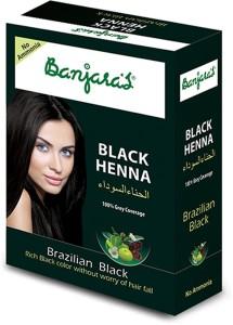 85183d3c6 Banjara s Black Henna Brazilian Black 54g Set Of 1 Pack 54 g Best ...