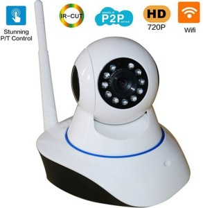 VibeX ™ Intelligent VN-PB12 Onvif Camera CCTV [YY/HD/WiFi/Audio] 1 Channel  Home Security Camera1 GB