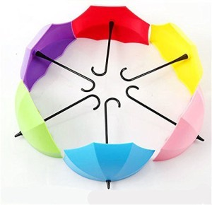 Maxed Umbrella Drop Style Clothes Key Hat Wall Hanger 1 - Pronged Hook