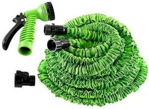 Shrih SH - 01252 Flexible Expandable 50ft Longest Garden Spray Nozzle Hose Pipe