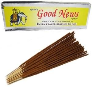 Vedic Vaani Good News Agarbatti Sandal Incense Sticks60 Sticks per Box