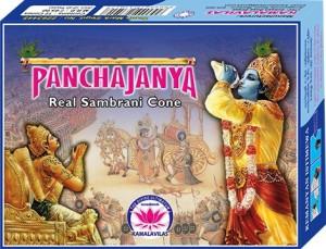 Panchajanya sandal Incense Sticks12 Sticks per Box