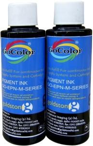 Gocolor M Series Inkjet Printer Pigment 100 ml x 2 Bottle Single Color Ink