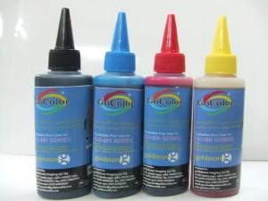 Gocolor Premium Korean Quality Brother Compatible Inkjet 100 ml Multi Color Ink