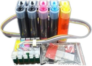 Max CISS Tank T0731HN-T0734 with Cartridge For EPSON T1100 with Multi Color Ink