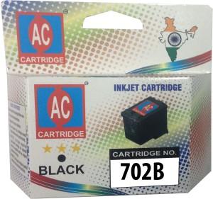 AC-Cartridge AC 702 Black Ink Cartridge Hp CC660AA its/J3500/J3600/J5500/J3508/J3608. Single Color Ink