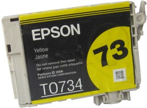 Epson Cartridge 73 (T0734) Original Single Color Ink