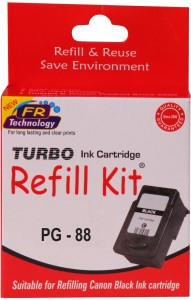 Turbo Ink Refill Kit For Canon PG 88 cartridge Single Color Ink
