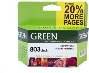 Green 803 Black Ink Cartridge Single Color Ink