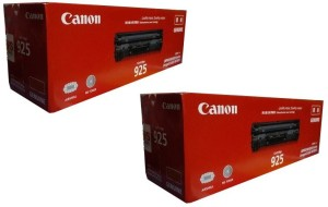 Canon 925 LaserJet Dual Pack Toner Cartridge Single Color Toner