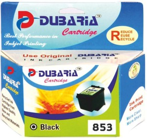 Dubaria 853 / C8767ZZ Cartridge - HP Compatible For Use In Deskjet 5748 , 6548 , 9808 , 6318 , 7208 , officejet 7408 , k7108 , 2608, 8038 , 8158 , 8458 , 8758 Single Color Ink