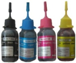VMS TC30/73 Refillable Ink Set of 120ML Multi Color Ink