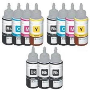 Epson T664 2 Set + T6641 Black 3 pcs Multi Color Ink