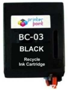 Max BC-03 Recycle Ink Cartridge BLACK for Canon with Single Color Ink