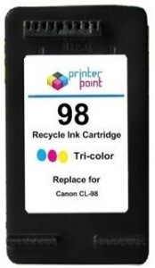 Max 98 Recycle Color Cartridge For Canon Prefilled Multi Color Ink